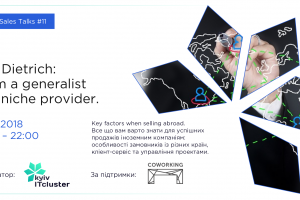 Cluster IT Sales Talks #11. From a generalist to a niche provider: key factors when selling abroad