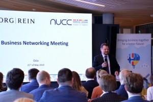 CEO Київ ІТ Кластеру Наталя Вєрємєєва виступила на зустрічі NUCC в Осло